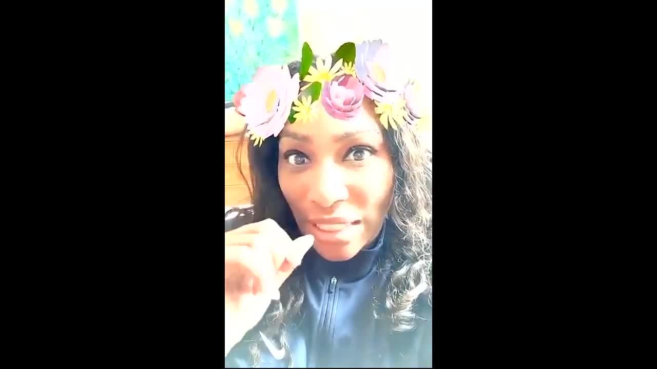 Serena takes over Wimbledon's Snapchat