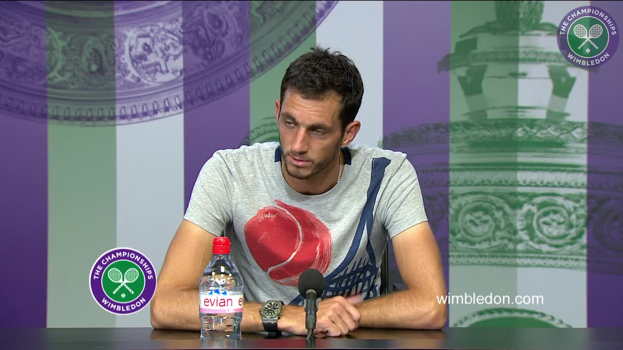 James Ward first round press conference