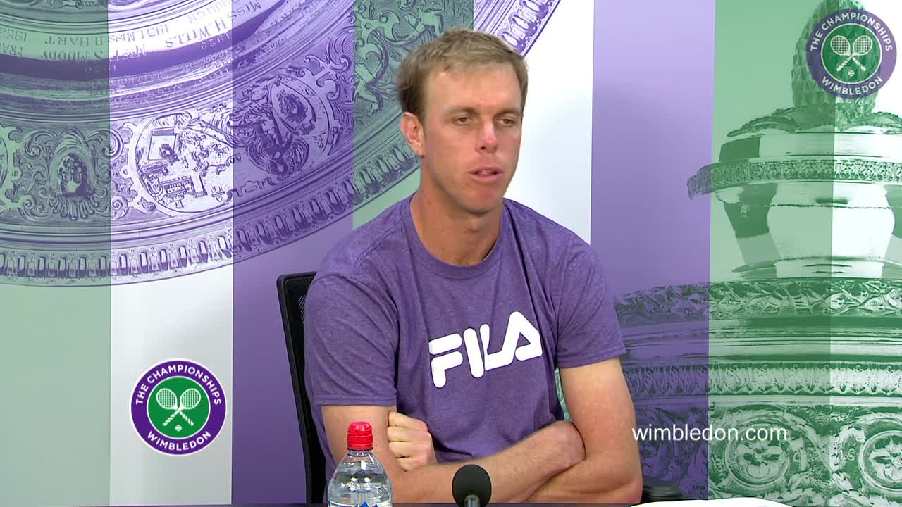 Sam Querrey first round press conference