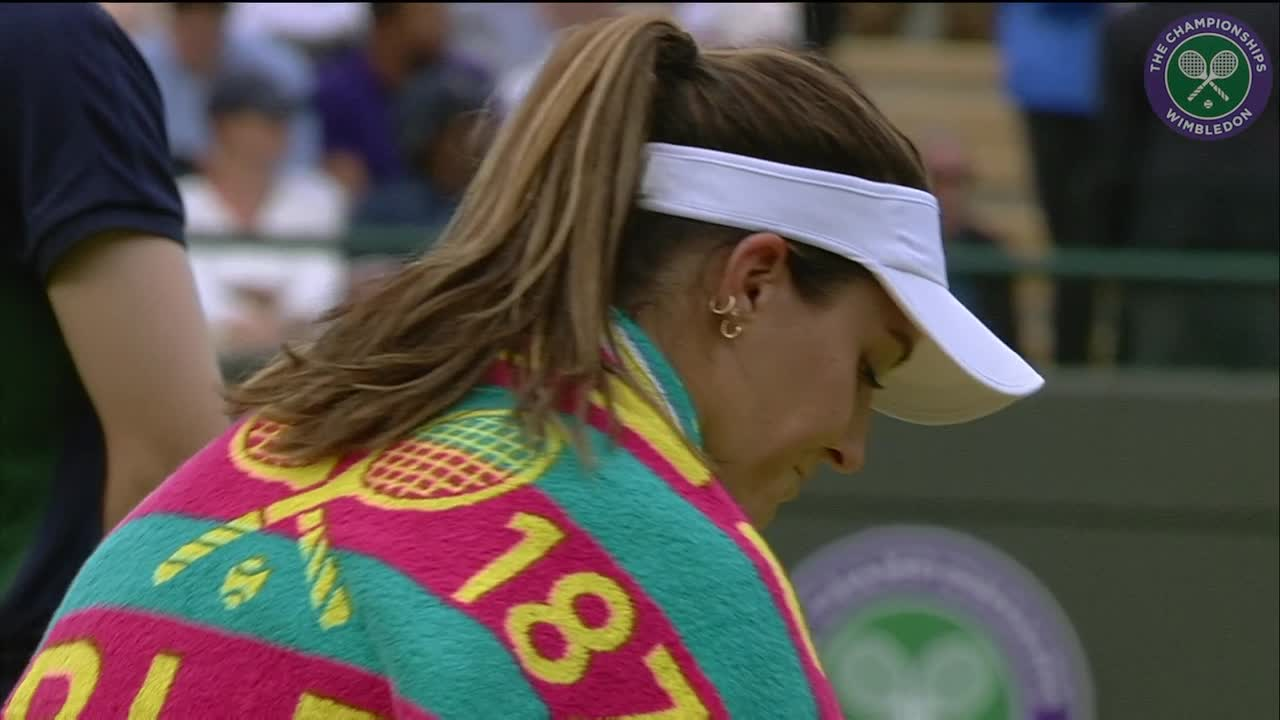 2016, Day 1 Highlights, Laura Robson vs Angelique Kerber