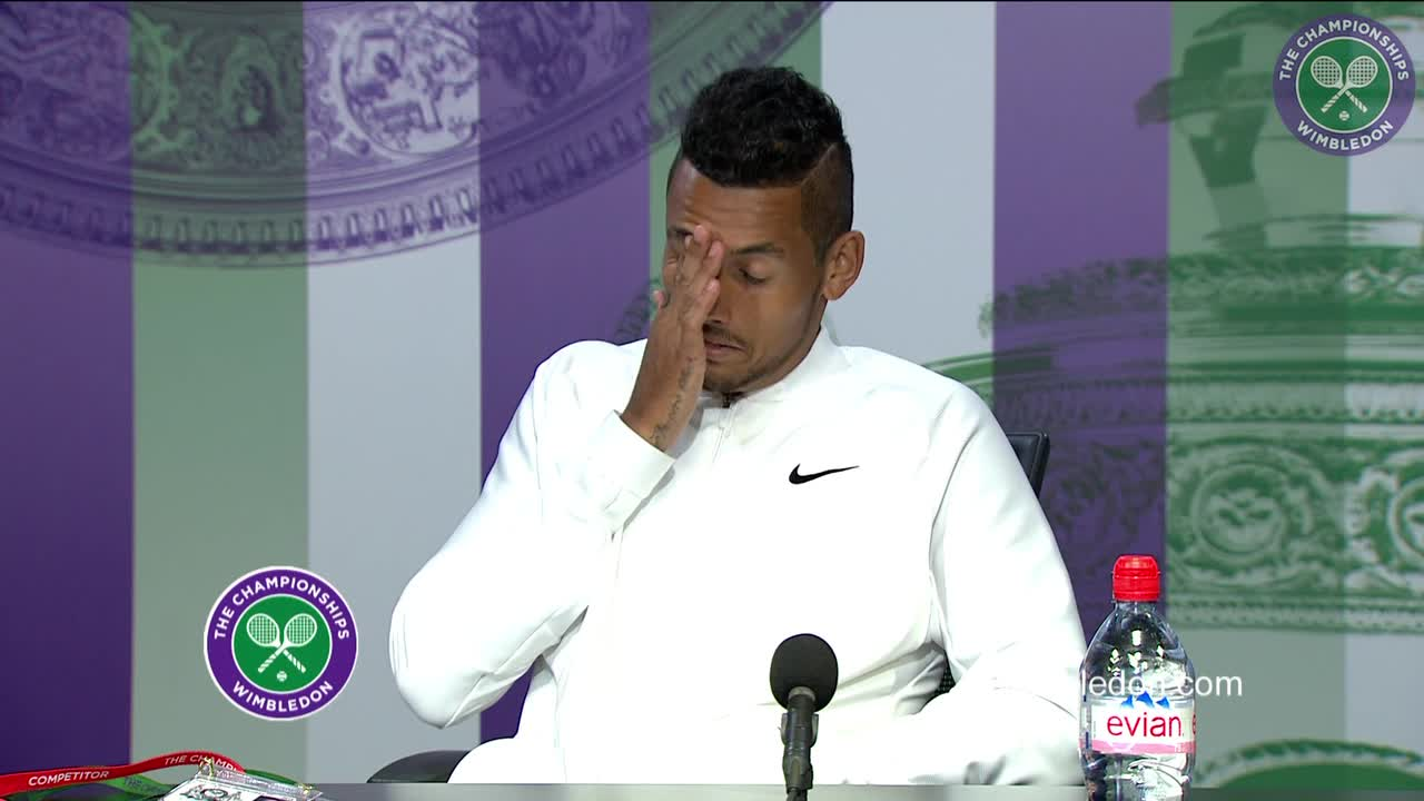 Nick Kyrgios first round press conference