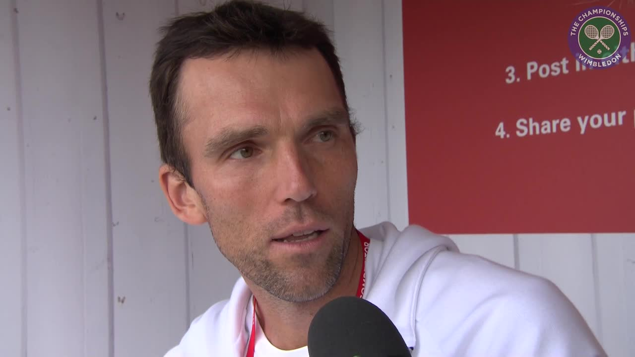 Karlovic relieved after seeing off countryman Borna Coric to reach second round