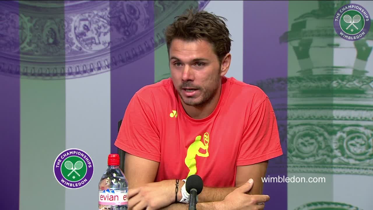 Stan Wawrinka first round press conference