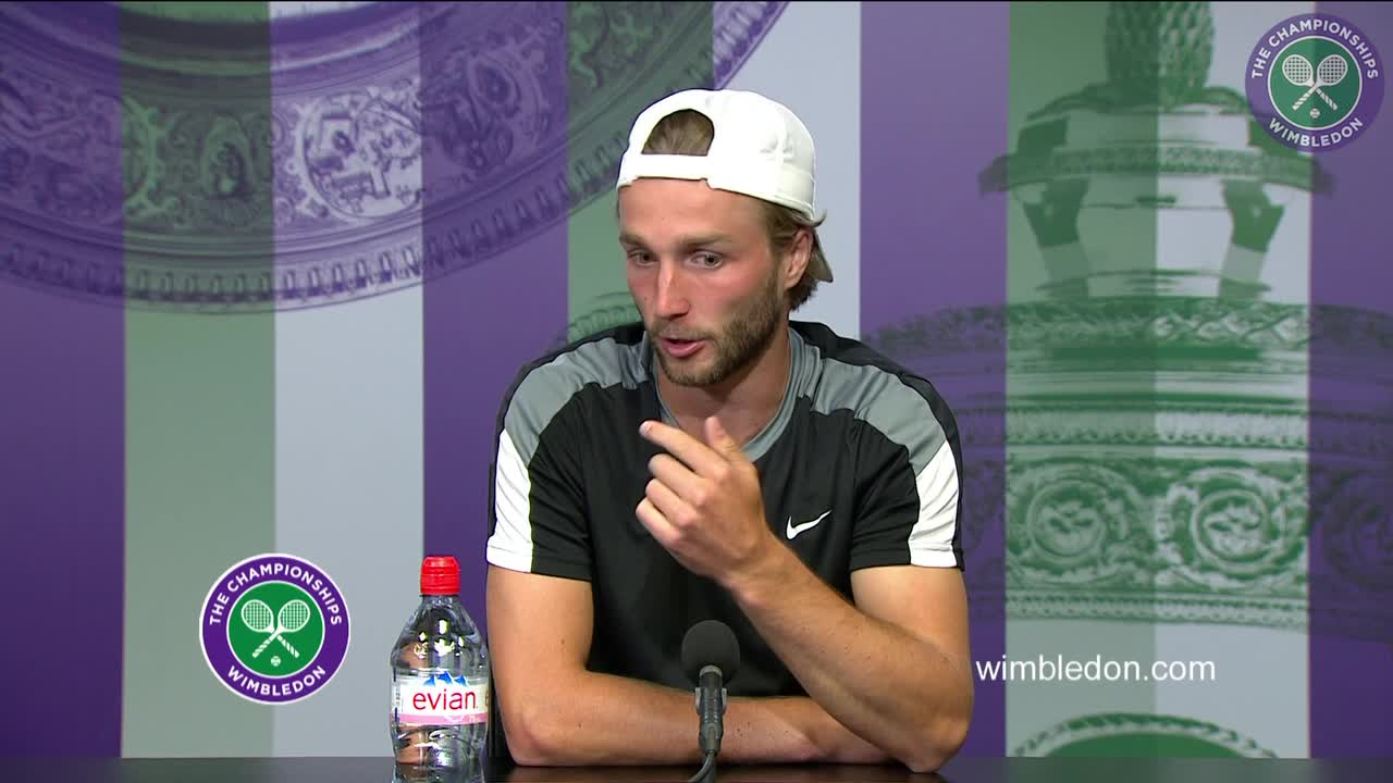 Liam Broady first round press conference