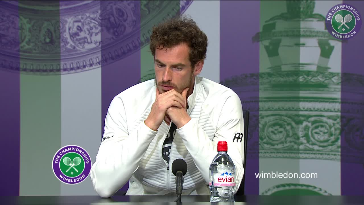 Andy Murray first round press conference