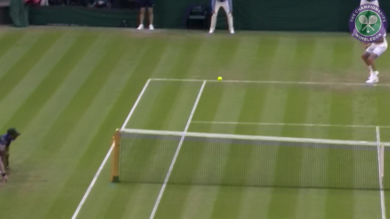 2016, Day 3 Highlights, Roger Federer vs Marcus Willis