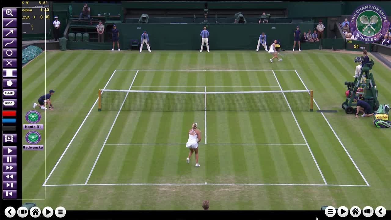 Radwanska's first round victory analysed