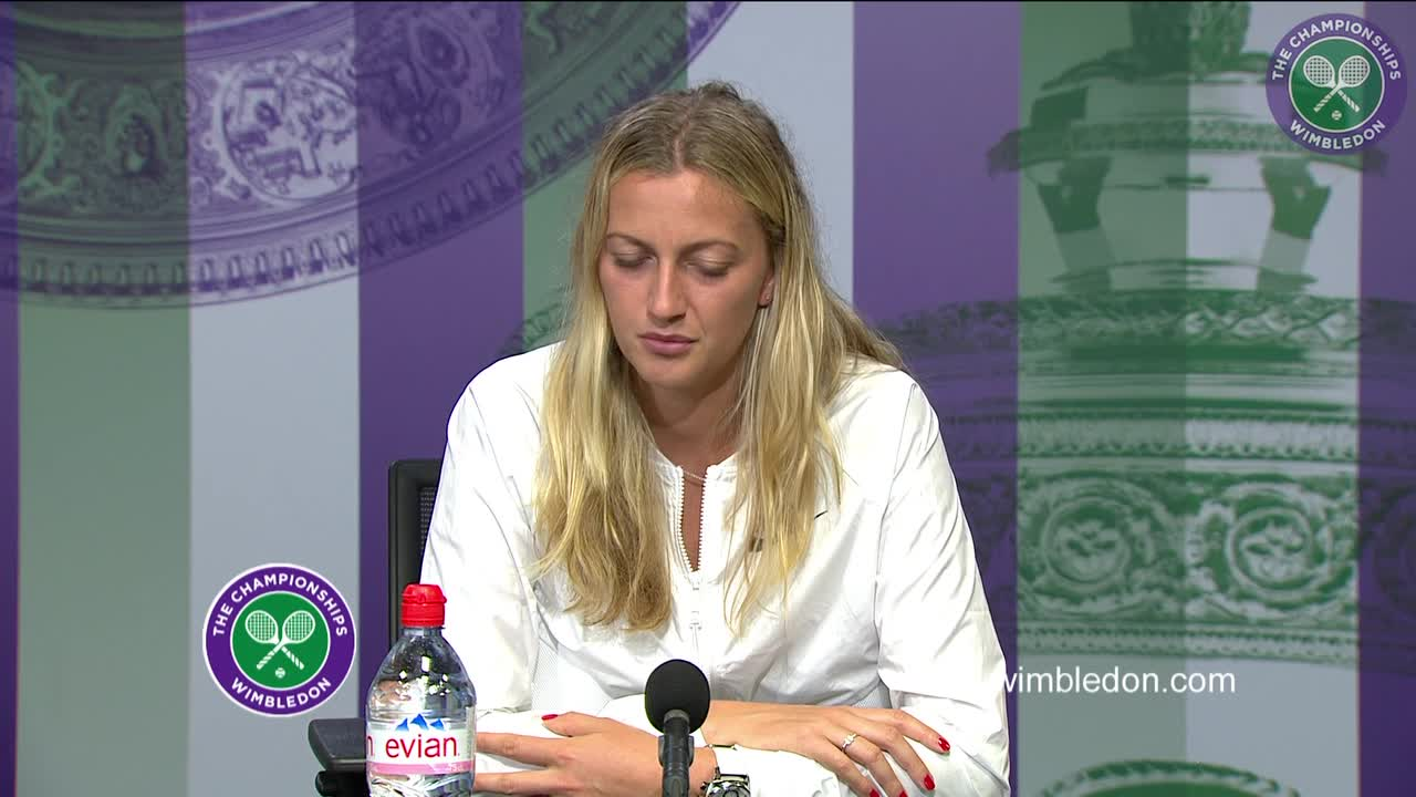 Petra Kvitova first round press conference