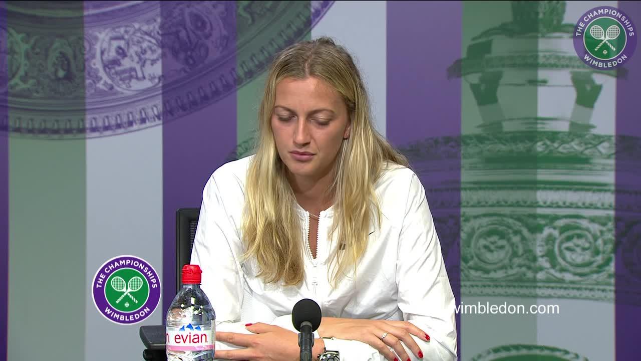 Petra Kvitova first round press conference