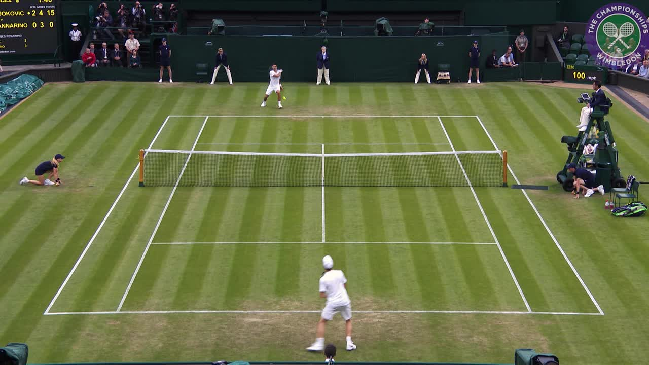 Wimbledon in numbers - Day 3