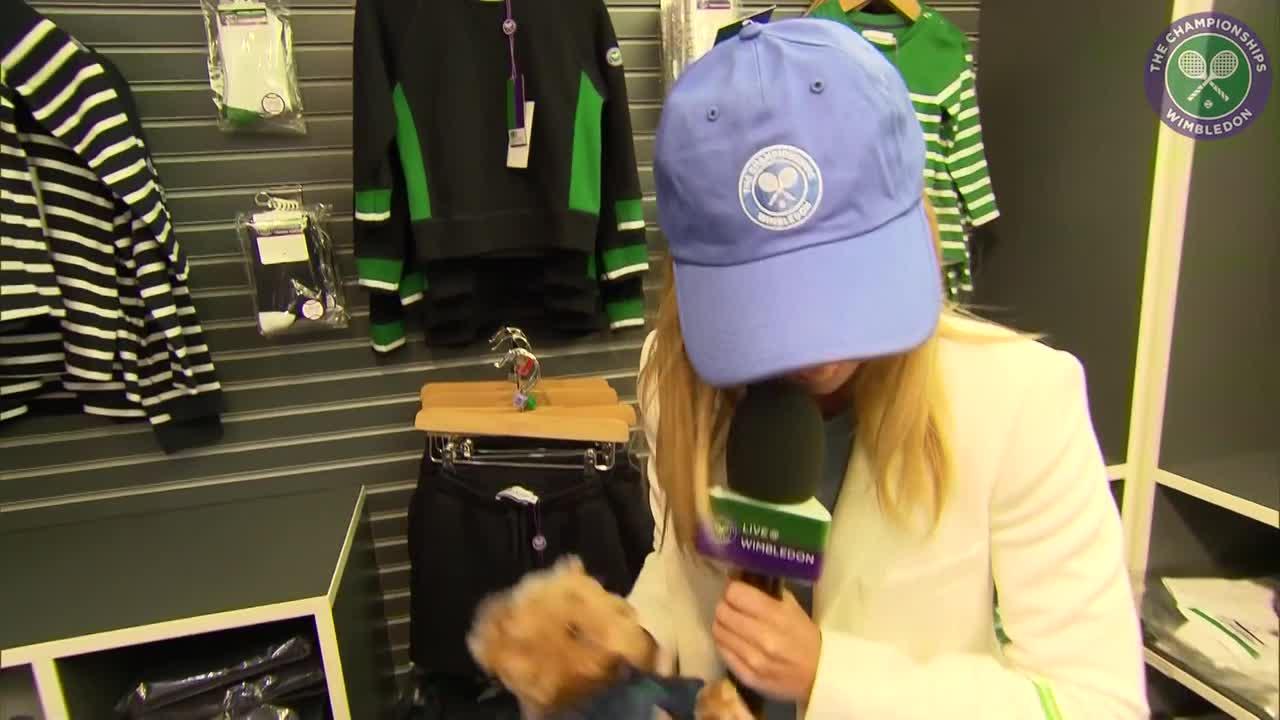 Take a peek inside the Wimbledon shop