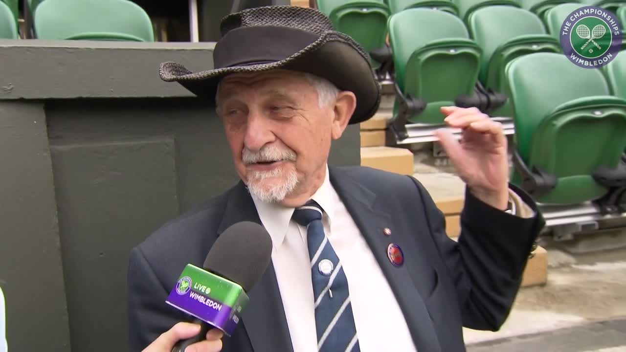 Longest serving steward enjoys best seat in the house in players' box