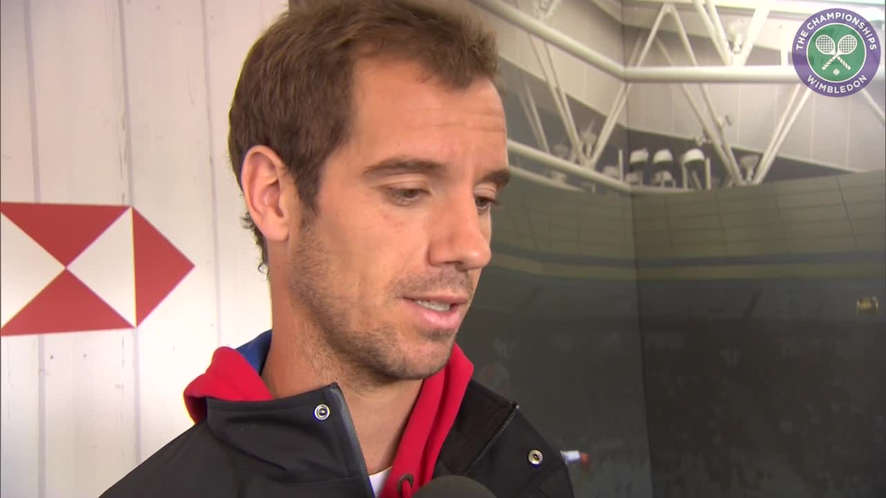 Gasquet hopeful of 2015 semi final repeat
