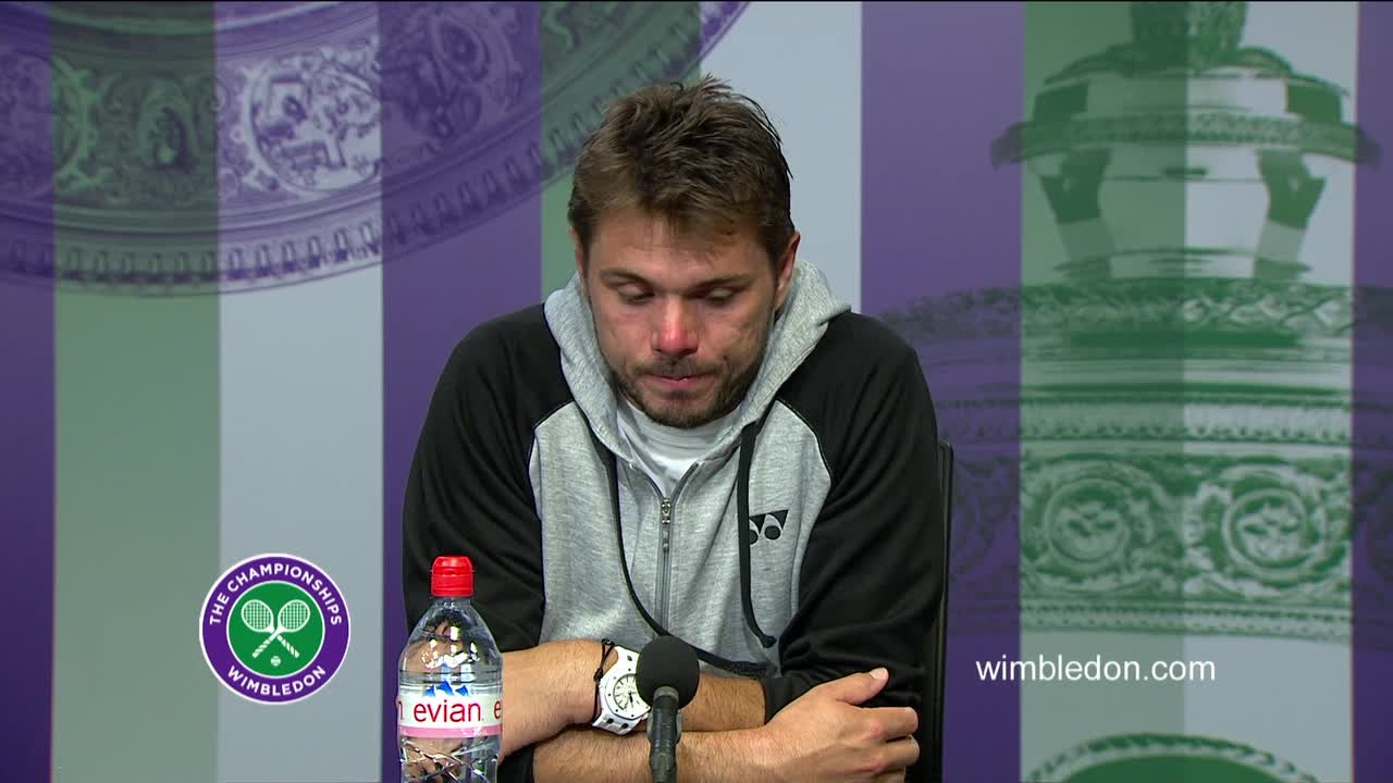 Stan Wawrinka second round press conference