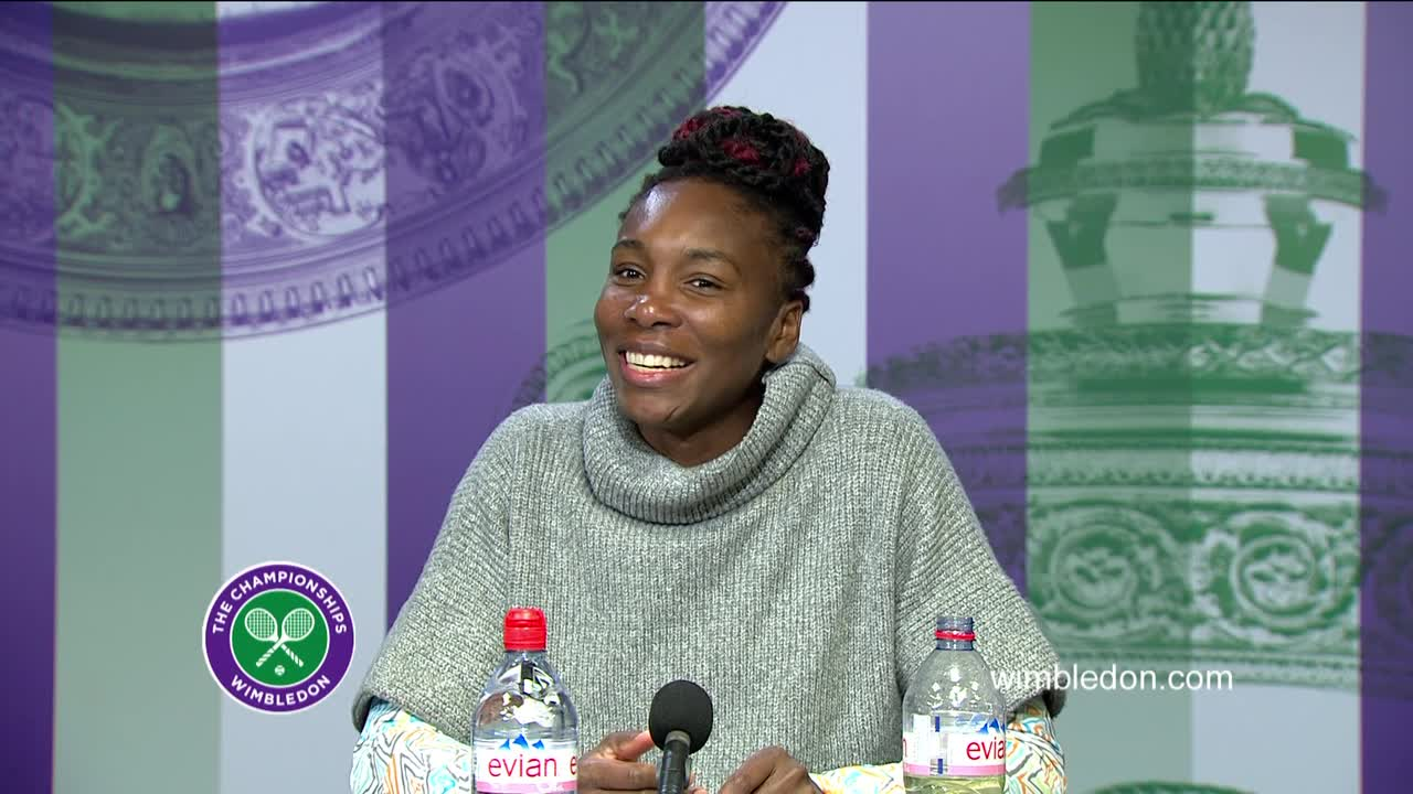 Venus Williams third round press conference
