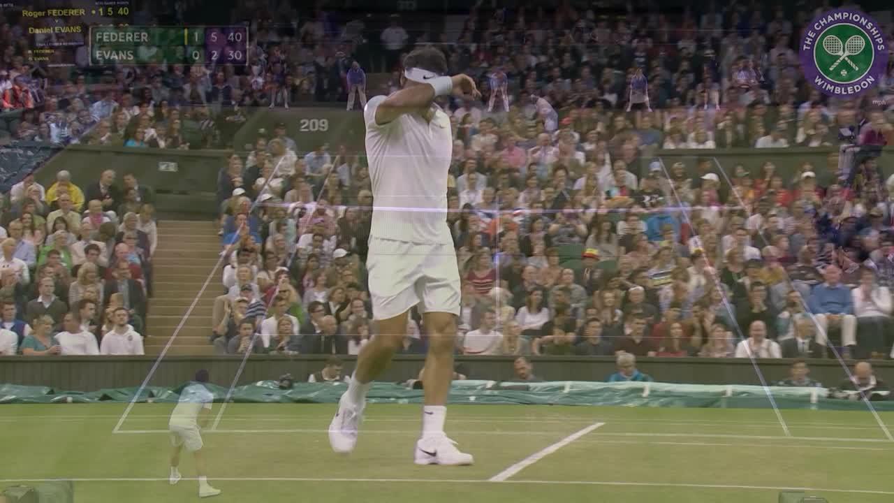 2016, Day 5 Highlights, Roger Federer vs Dan Evans