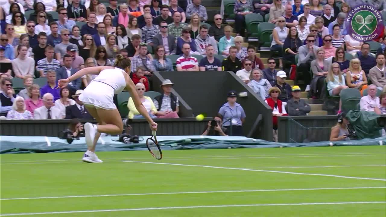 2016, Day 6 Highlights, Simona Halep vs Kiki Bertens