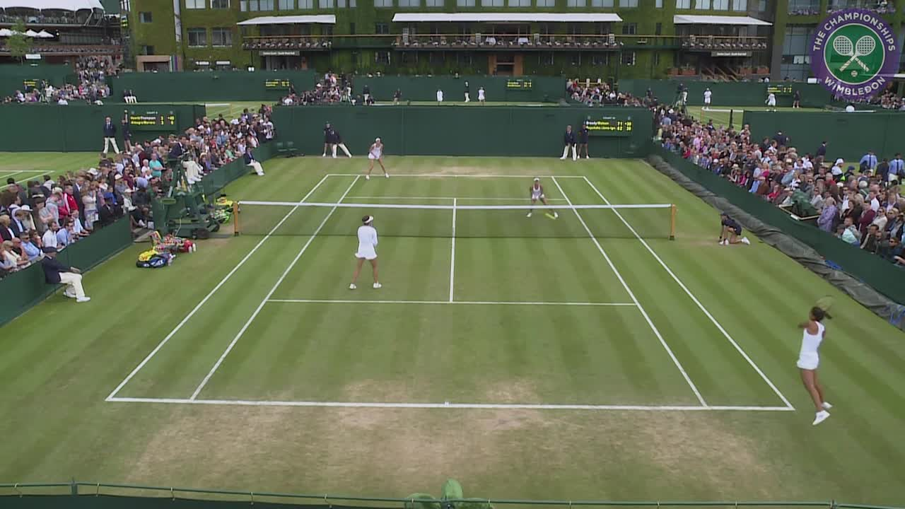 Watson and Broady cruise into doubles second round