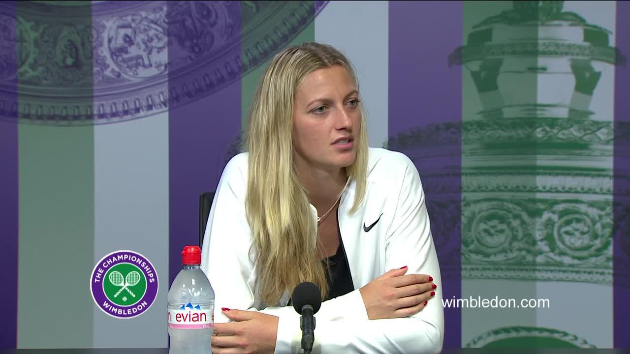 Petra Kvitova second round press conference