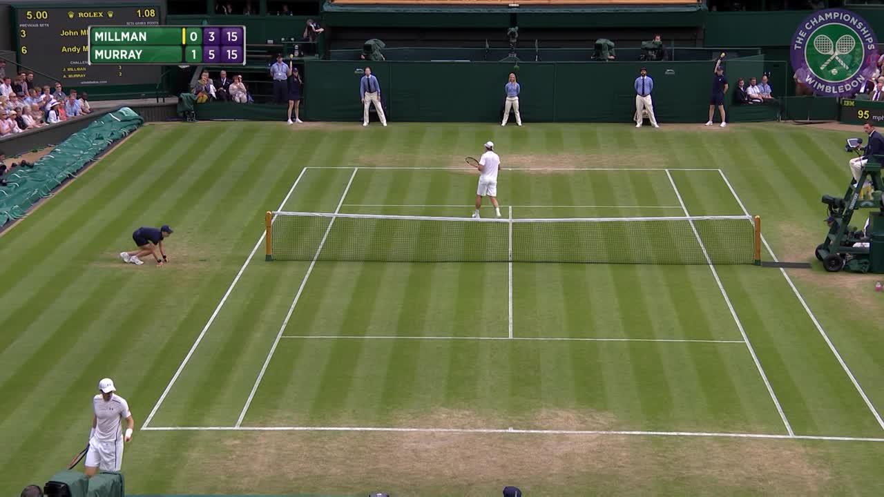 2016, Day 6 Highlights, Andy Murray vs John Millman