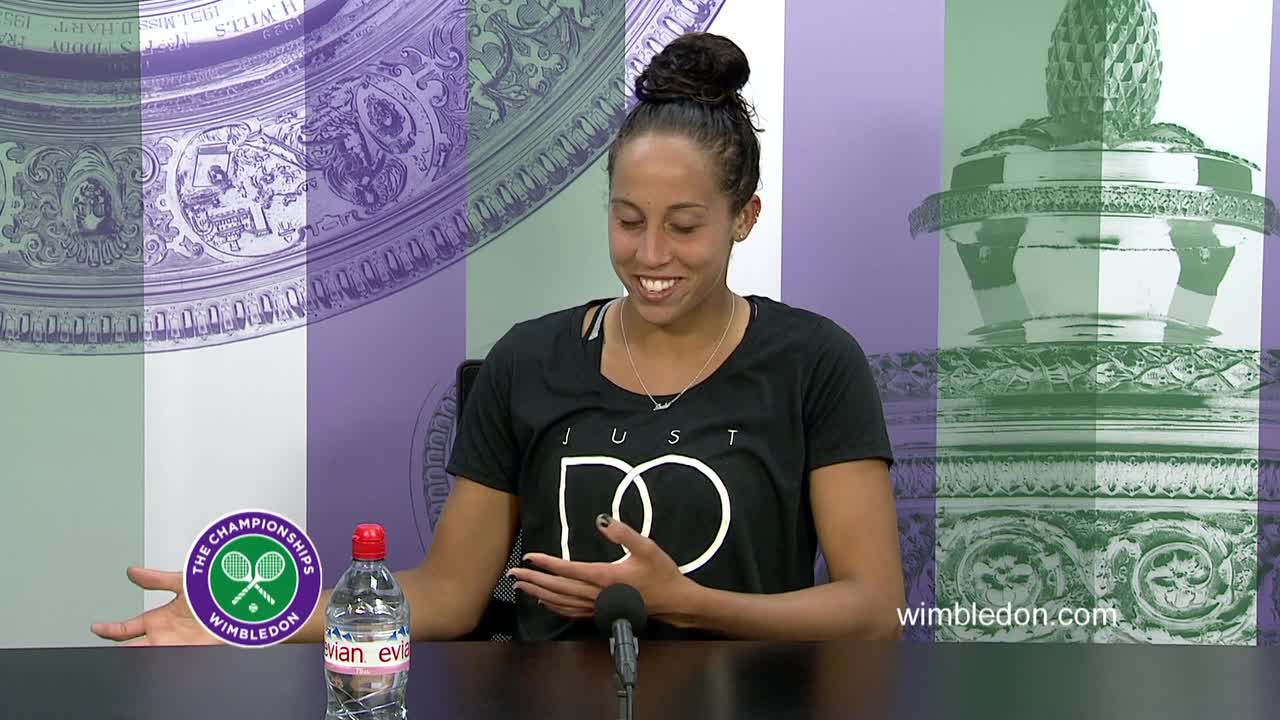 Madison Keys third round press conference