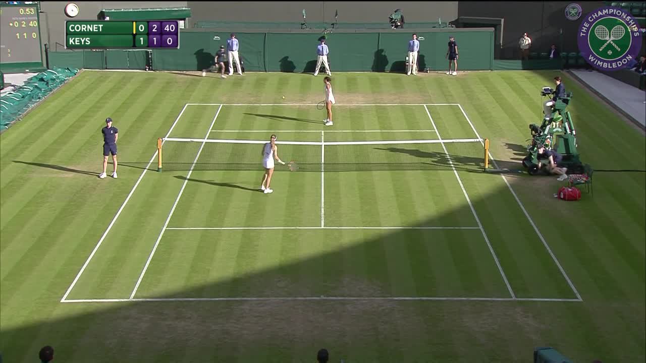 2016, Day 6 Highlights, Madison Keys vs Alize Cornet