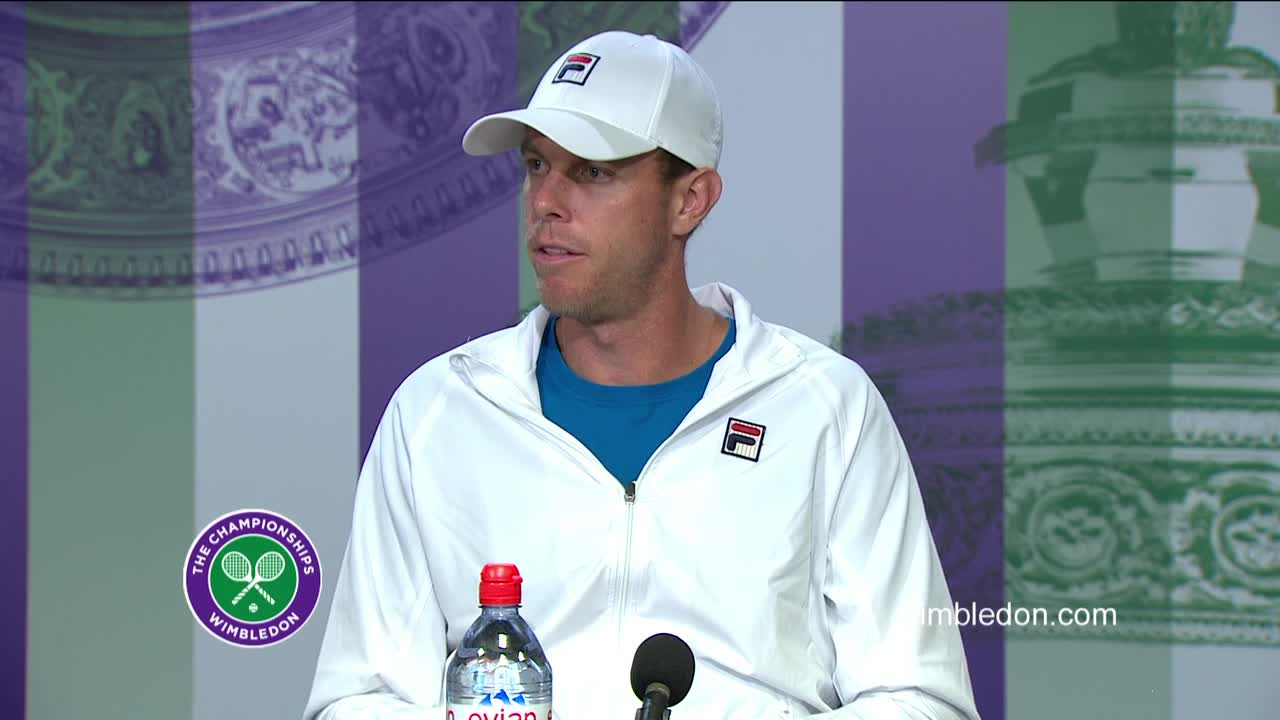 Sam Querrey Third Round Press Conference