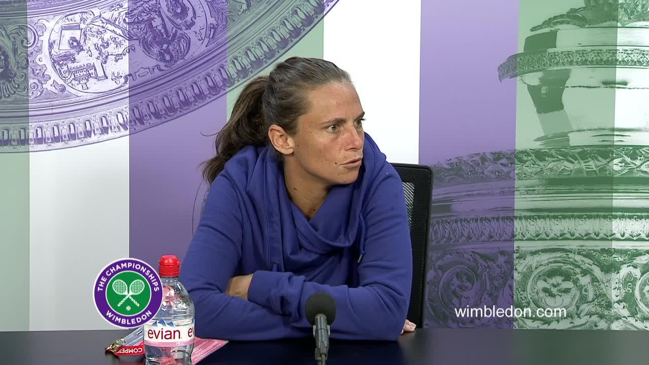 Roberta Vinci third round press conference