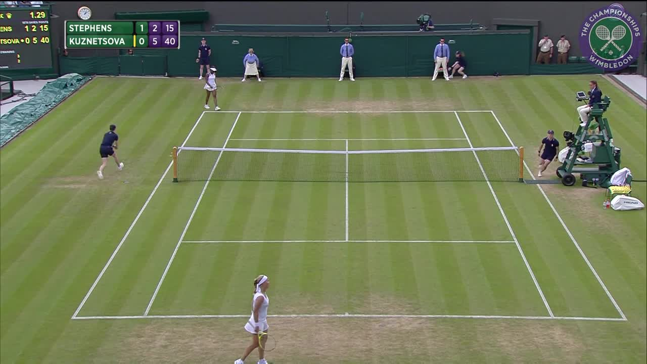 2016, Middle Sunday Highlights, Svetlana Kuznetsova vs Sloane Stephens