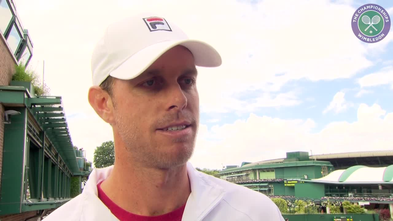 Querrey in high spirits after downing Djokovic