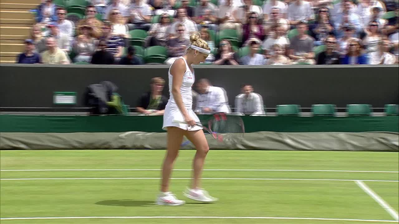 HSBC Play of the Day - Timea Bacsinszky