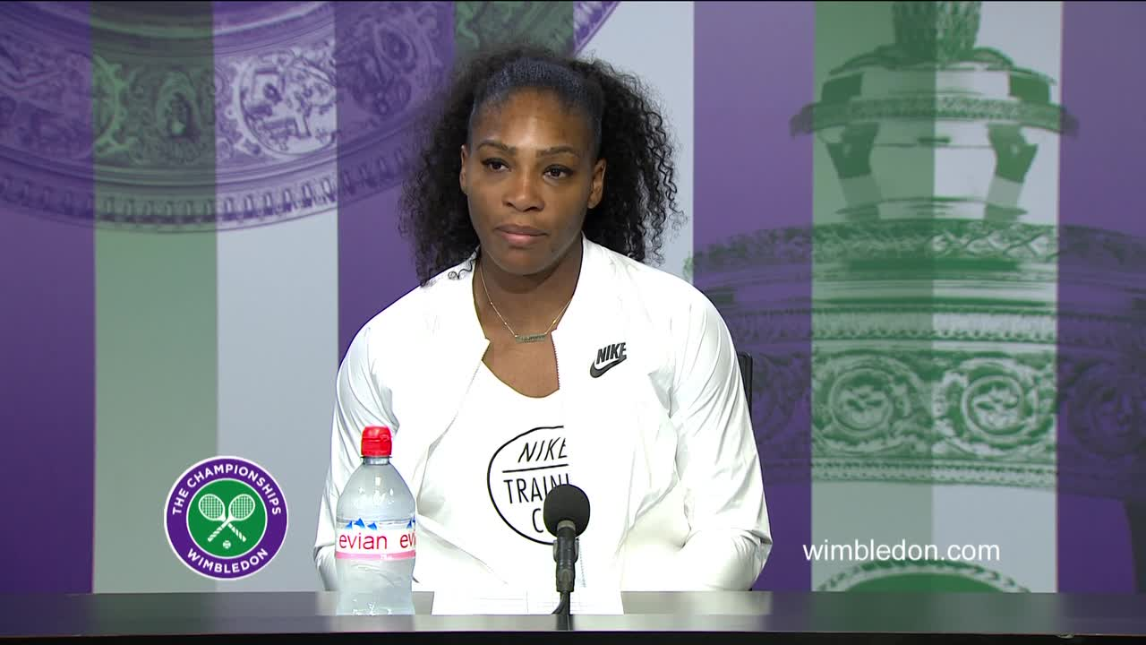 Serena Williams third round press conference
