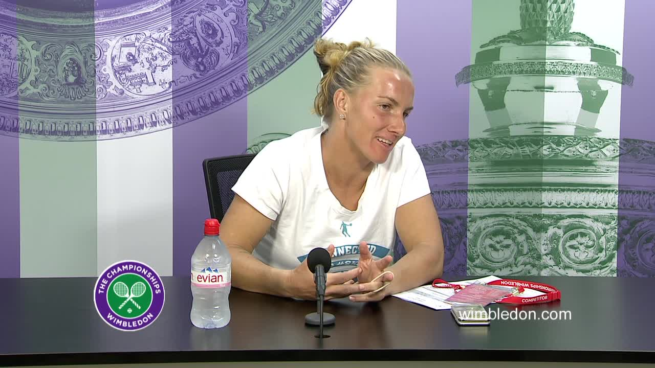 Svetlana Kuznetsova third round press conference