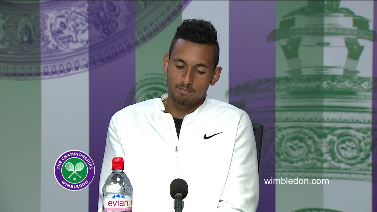 Nick Kyrgios third round press conference