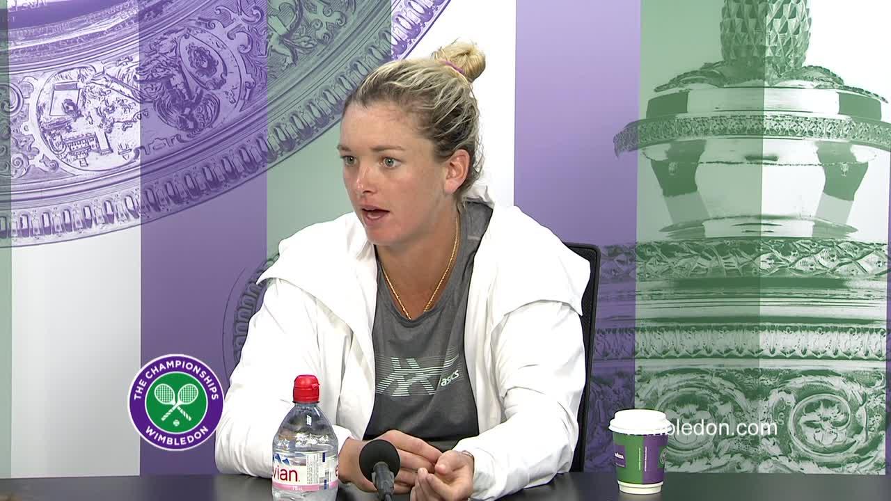 Coco Vandeweghe third round press conference