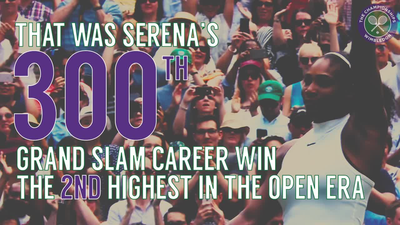 Wimbledon in numbers - Middle Sunday