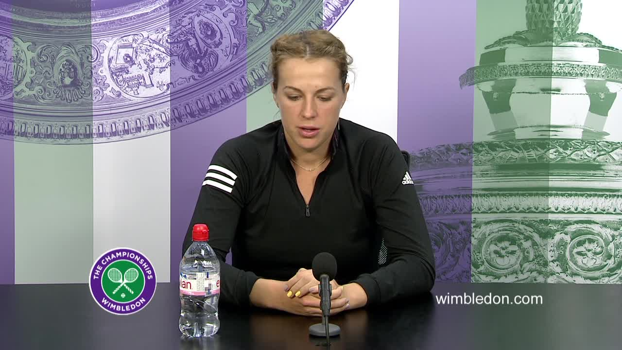 Anastasia Pavlyuchenkova fourth round press conference