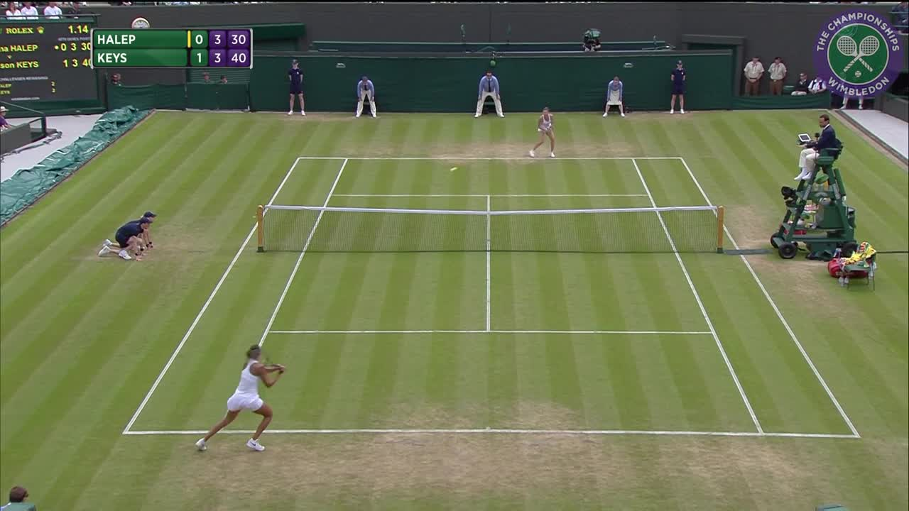2016, Day 7 Highlights, Simona Halep vs Madison Keys