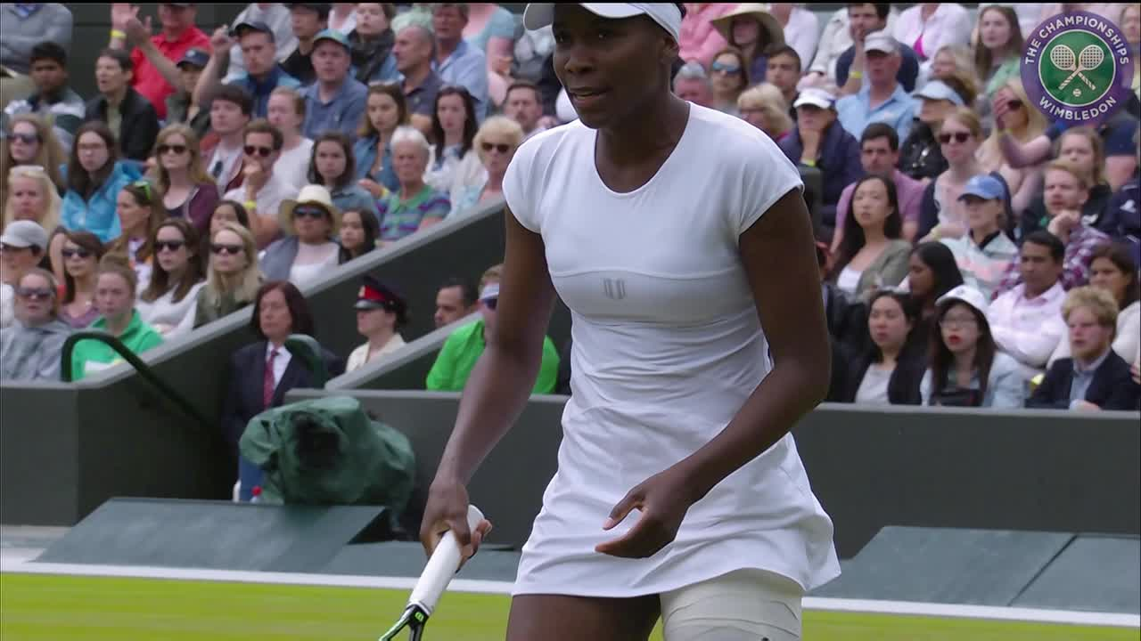 2016, Day 7 Highlights, Venus Williams vs Carla Suarez Navarro
