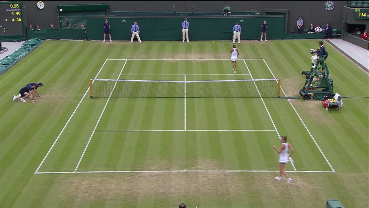 HSBC Play of The Day - Simona Halep