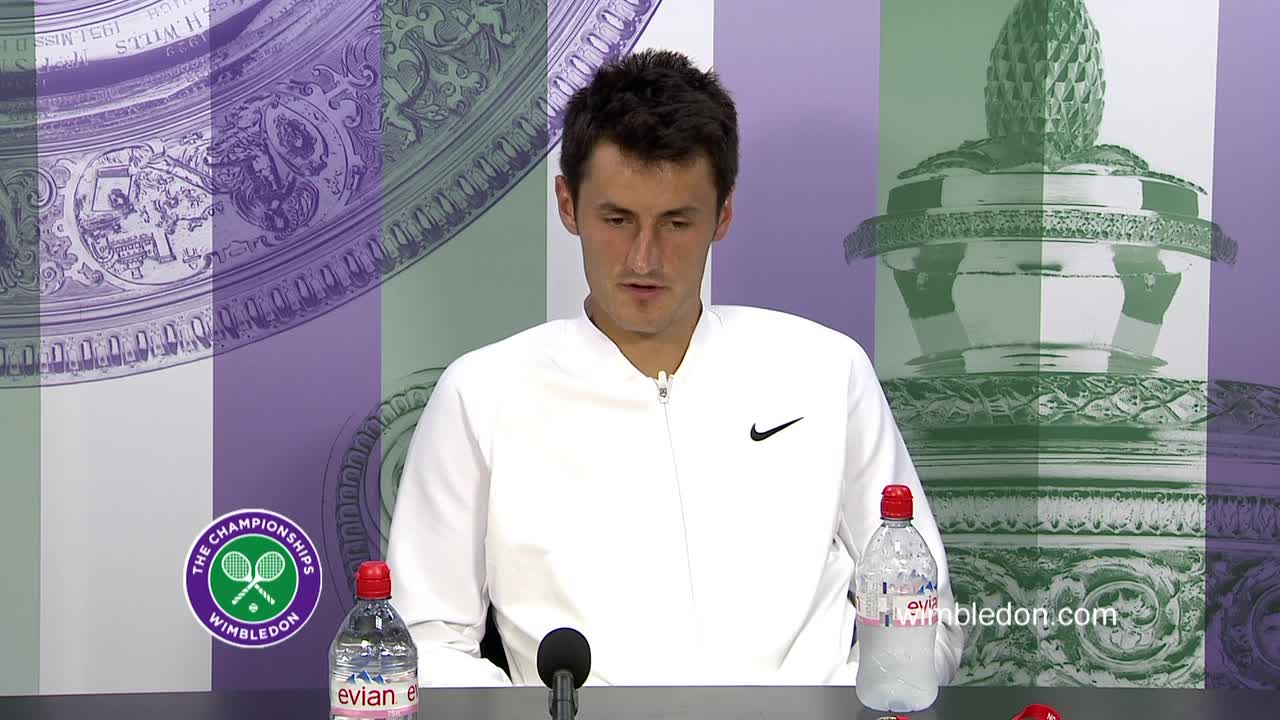 Bernard Tomic fourth round press conference