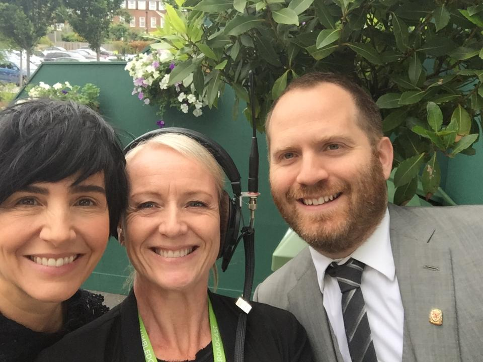 Sharleen Spiteri & Bryn Williams with Sonja McLaughlan