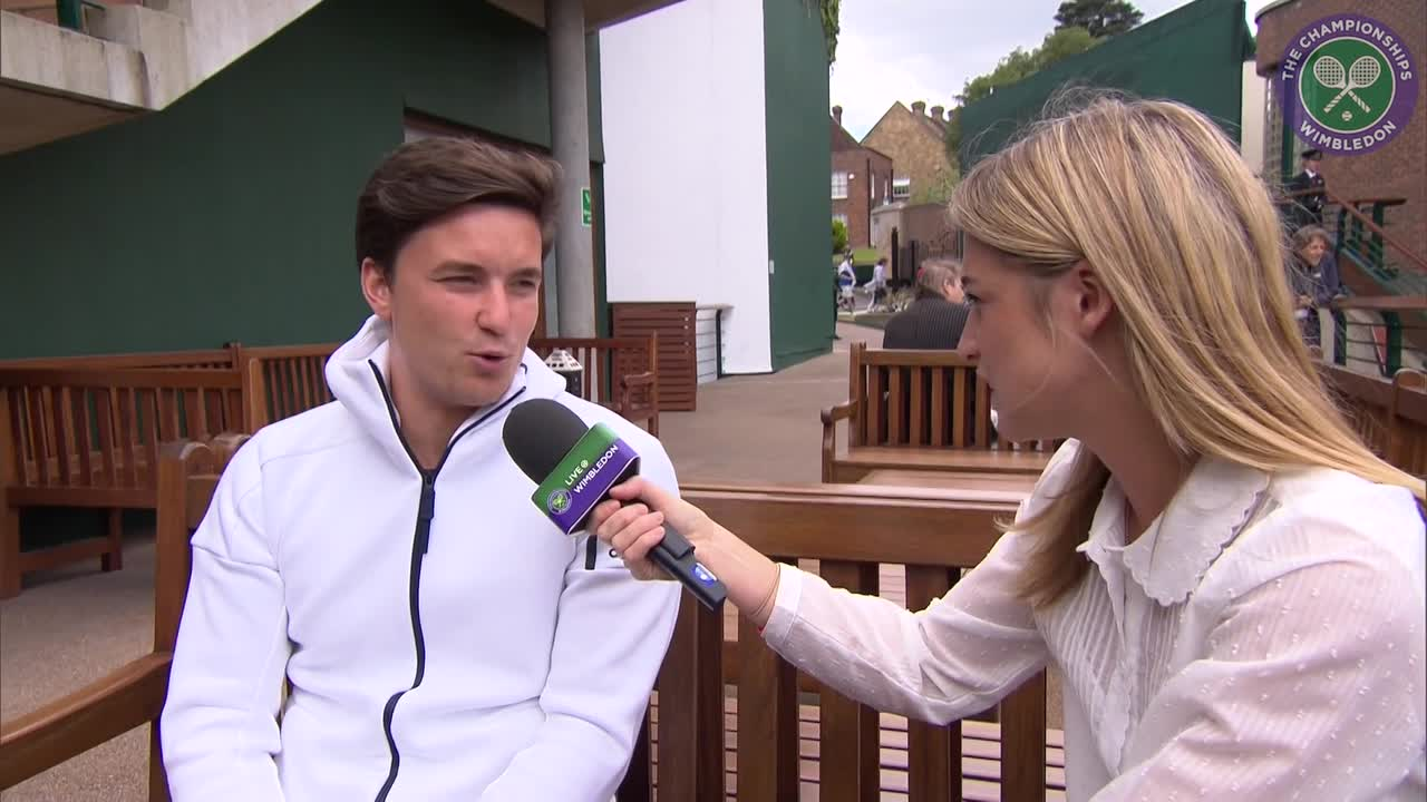 Australian Open Wheelchair champion Gordon Reid has sights set on Wimbledon crown
