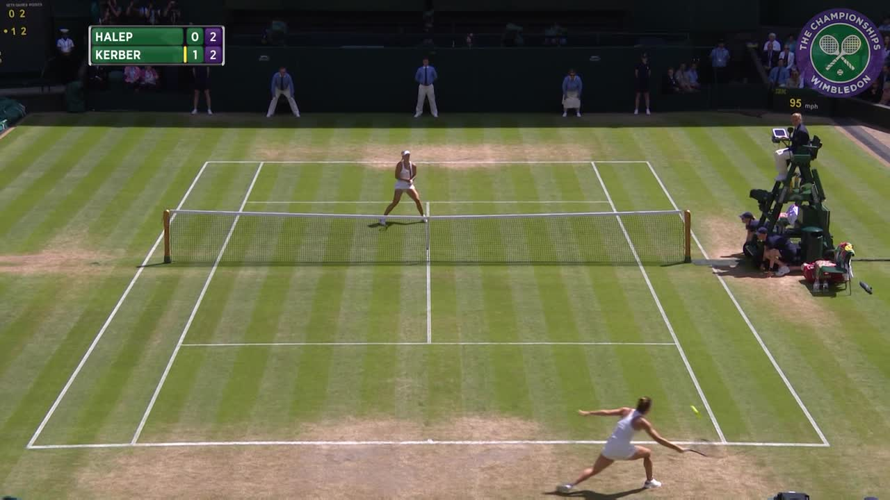 2016, Day 8 Highlights, Angelique Kerber vs Simona Halep