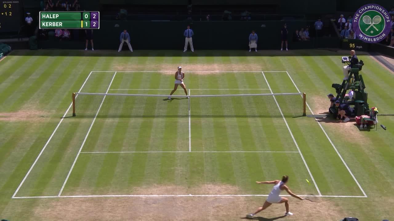 2016, Day 8 Highlights, Angelique Kerber vs Simona Halep