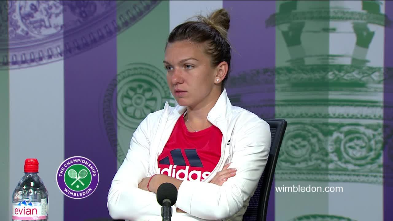 Simona Halep quarter-final press conference