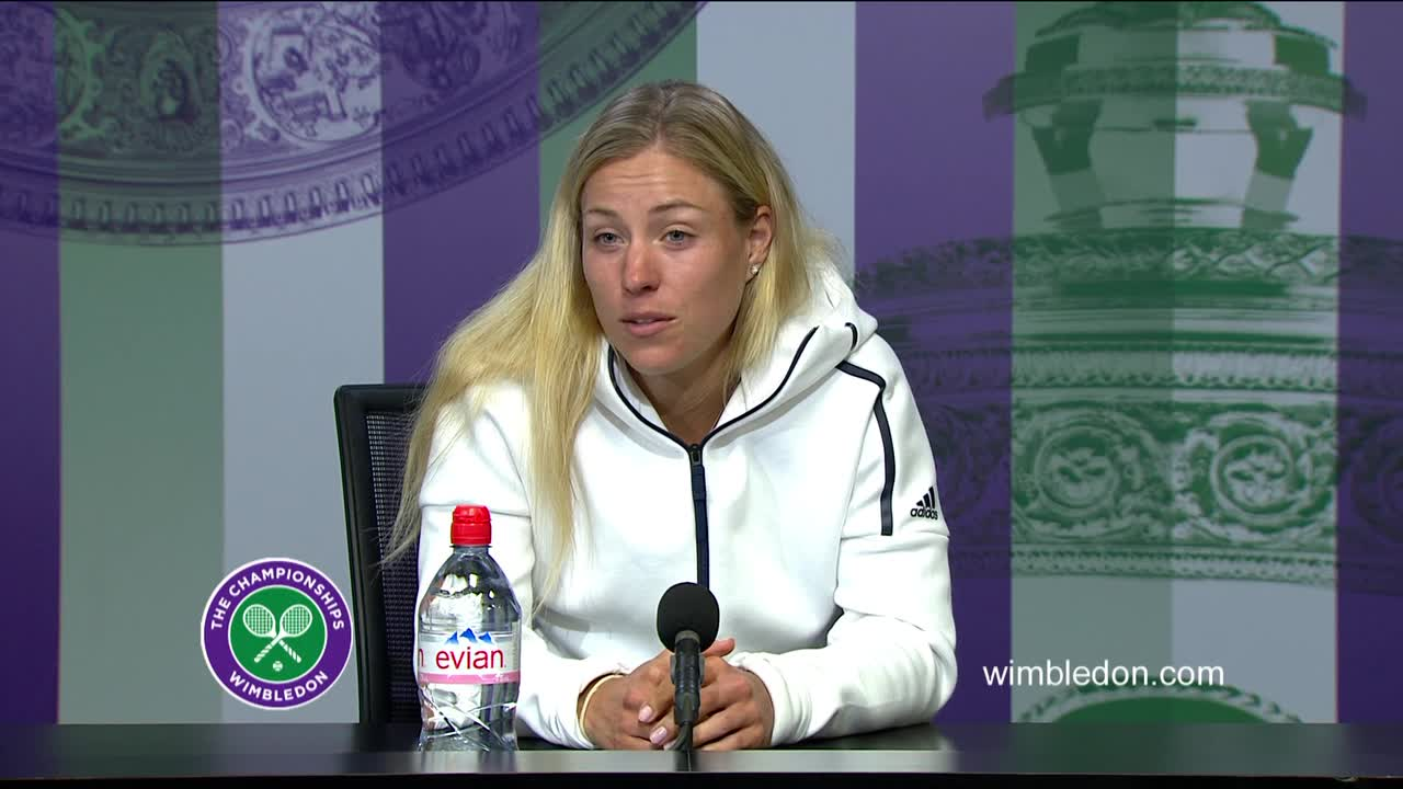 Angelique Kerber quarter-final press conference
