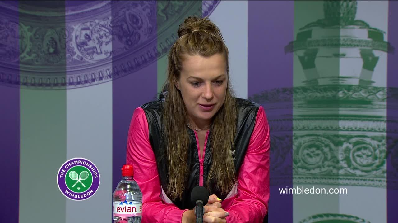 Anastasia Pavlyuchenkova quarter-final press conference