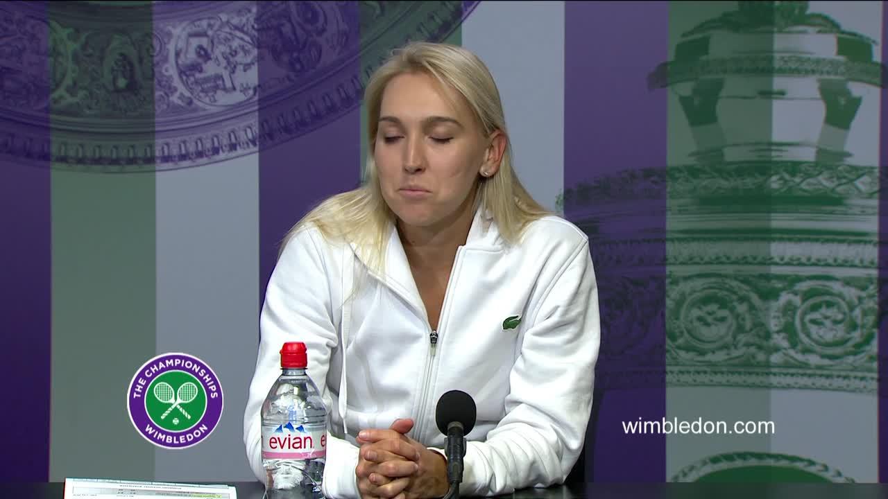 Elena Vesnina quarter-final press conference