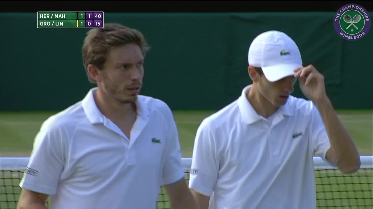 2016, Day 8 Highlights, Pierre-Hugues Herbert and Nicolas Mahut vs Robert Lindstedt and Sam Groth